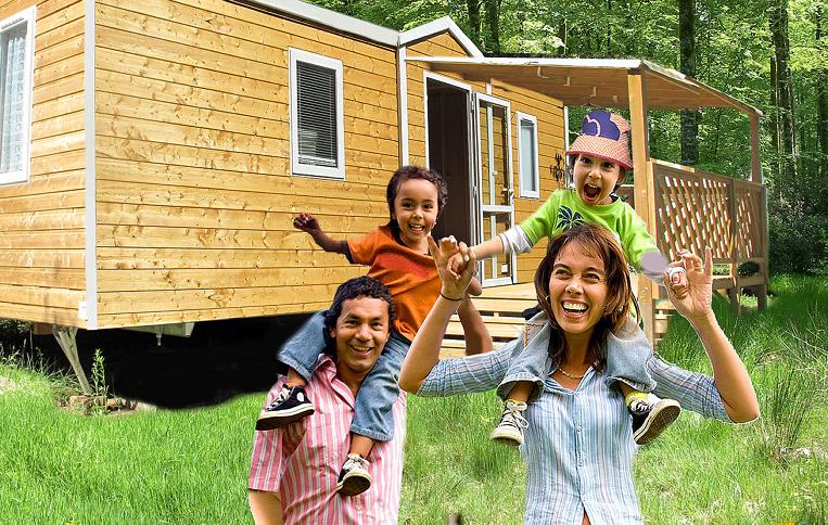 Location Chalets Mobilhomes - Aloha Camping Club *** - Amélie les Bains