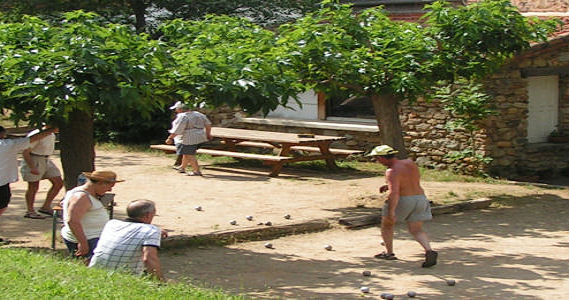 Pétanque - Aloha Camping Club *** - Amélie les Bains